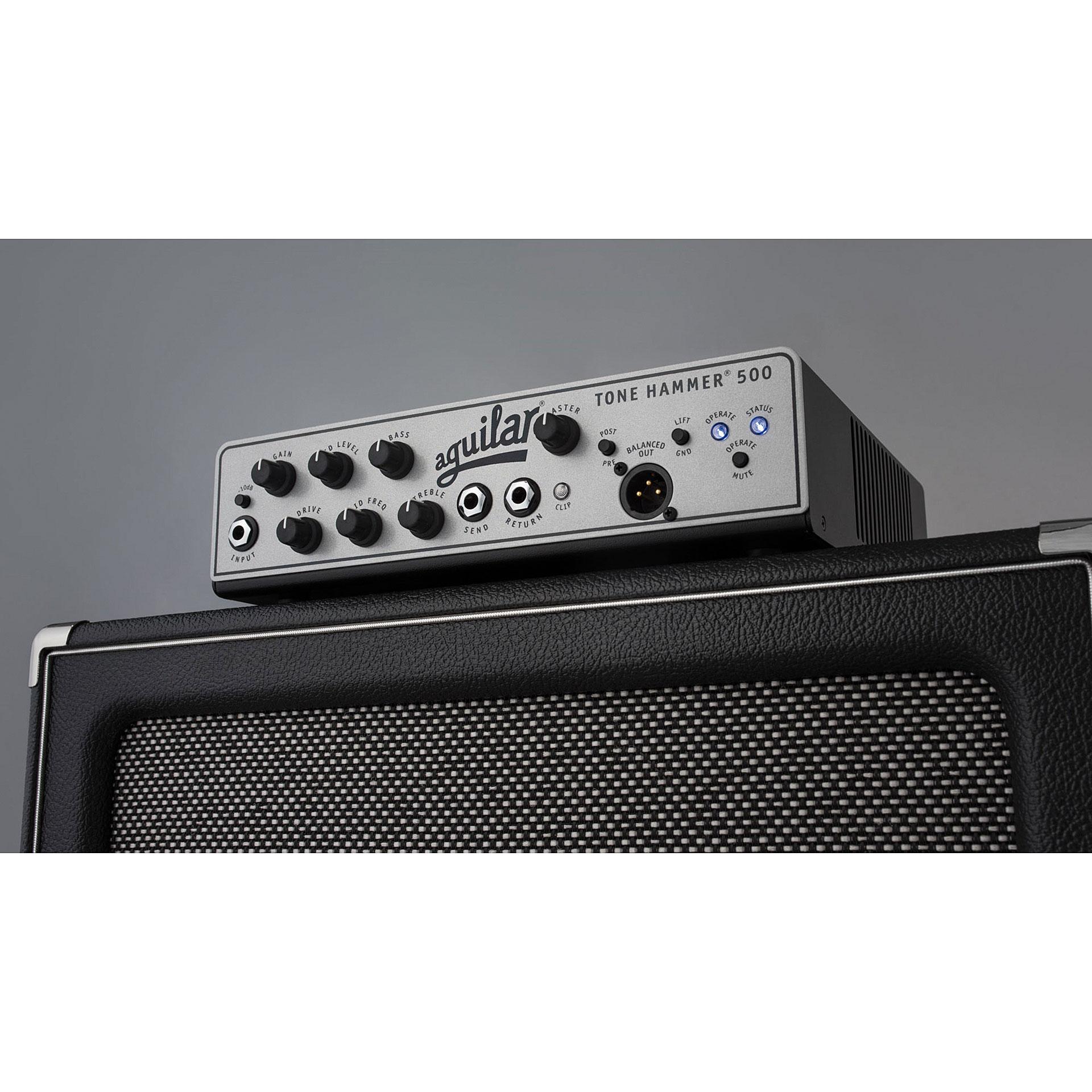 aguilar tone hammer 500 bass amp head musik produktiv. Black Bedroom Furniture Sets. Home Design Ideas