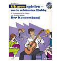 Music Notes Schott Gitarrespielen - mein schönstes Hobby Der Konzertband