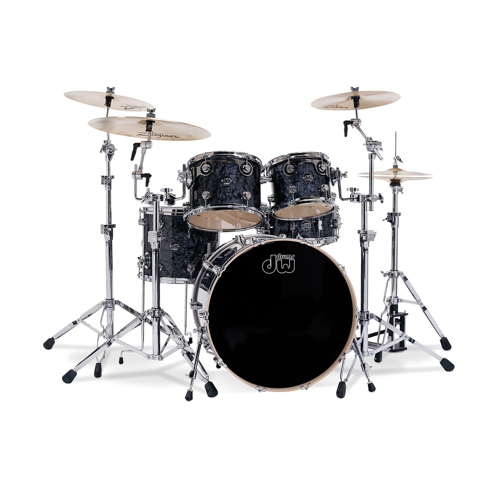 Dw Performance Black Diamond 171 Drum Kit