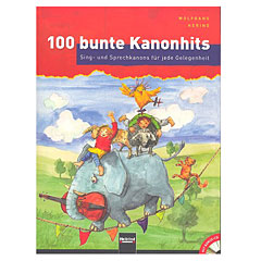 Helbling 100 bunte Kanonhits « Recueil de Partitions