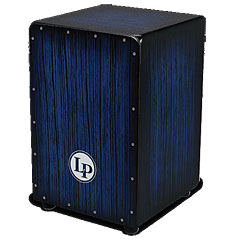 Latin Percussion Aspire Accents Blue Burst Streak Cajon « Cajon