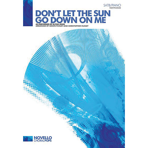 let the sun go down on me en: