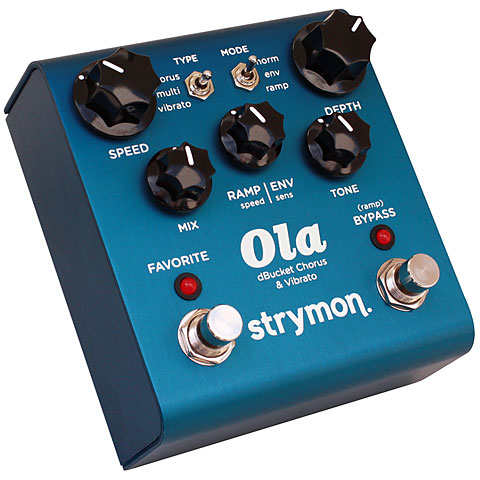 Pedal guitarra eléctrica Strymon Ola dBucket Chorus & Vibrato