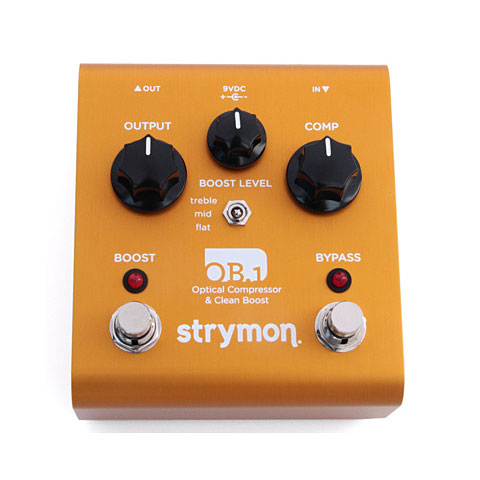 Strymon OB.1 Optical Compressor & Clean Boost