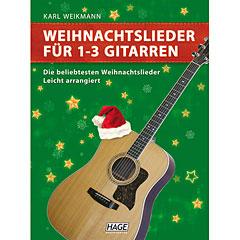 Hage Weihnachtslieder für 1-3 Gitarren « Notenbuch