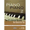 Libro di spartiti Hage Piano Piano 2 (Mittelschwer) + 4 CDs
