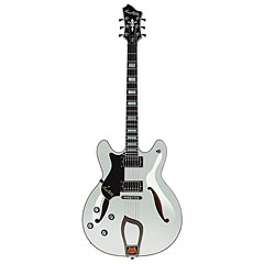 Hagstrom Viking Deluxe White Gloss  «  Guitare gaucher