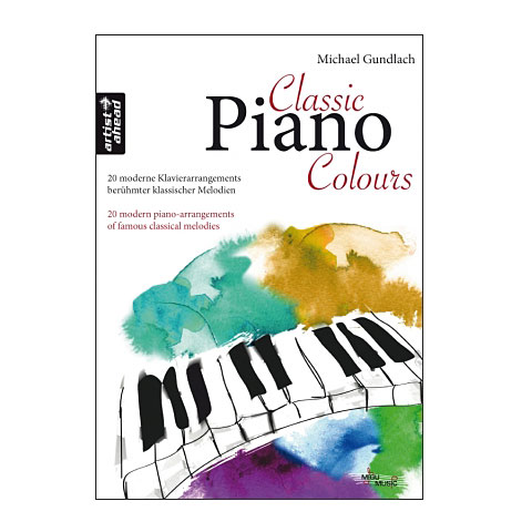 Libro de partituras Artist Ahead Classic Piano Colours