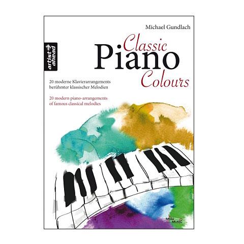 Recueil de Partitions Artist Ahead Classic Piano Colours