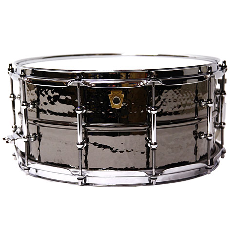 "Caisse claire Ludwig Black Beauty 14"" 6,5"" hammered"