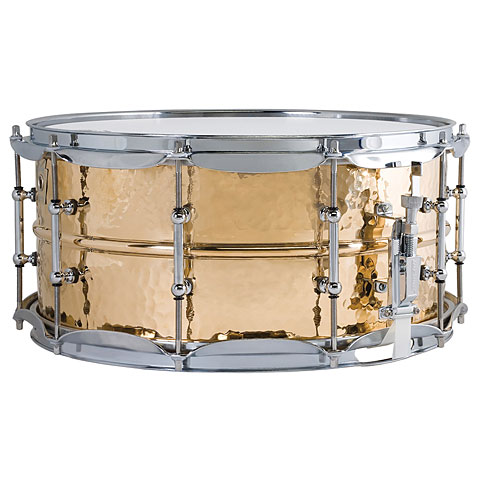 Ludwig Supraphonic 14  x 6,5  Hammered Bronze Snare