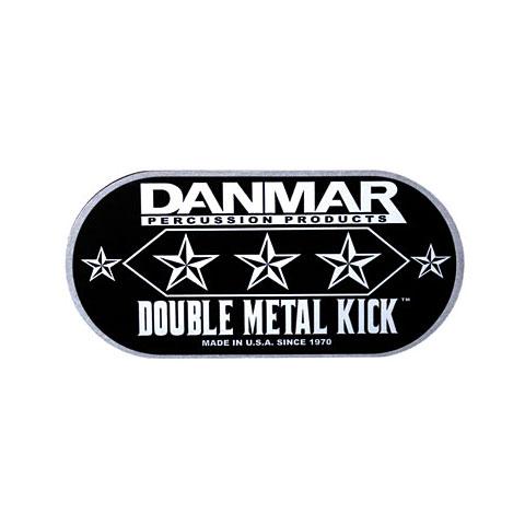 Accesor. parches Danmar Double Metal Kick