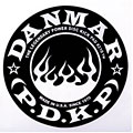 Drum head accessoires Danmar Flame Patch for Single Pedal