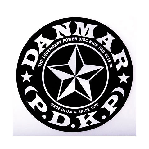 Danmar Star Patch for Single Pedal