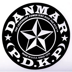 Danmar Star Patch for Single Pedal « Drum head accessoires