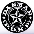Drum head accessoires Danmar Star Patch for Single Pedal