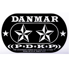 Danmar Stars Patch for Double Pedal « Drum head accessoires