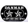Danmar Stars Patch for Double Pedal « Drum head accessories