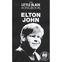 Music Sales The Little Black Songbook - Elton John « Cancionero