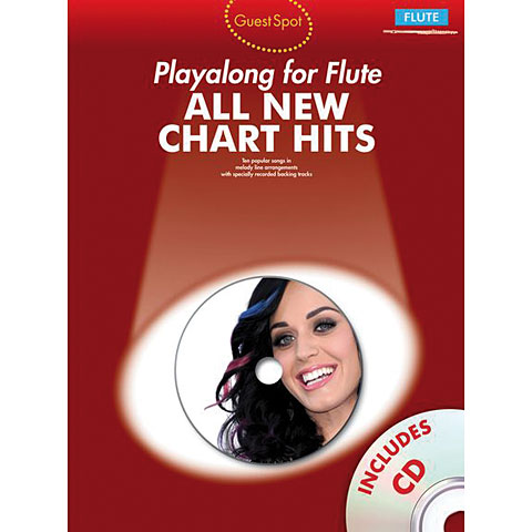 Music Sales All New Chart Hits for flute