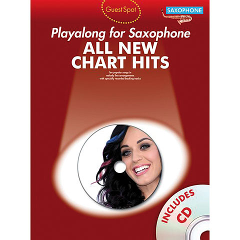 Play-Along Music Sales All New Chart Hits - Playalong for Saxophone