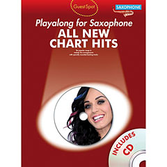 Music Sales All New Chart Hits - Playalong for Saxophone « Play-Along
