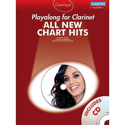 Music Sales All New Chart Hits - Playalong for Clarinet
