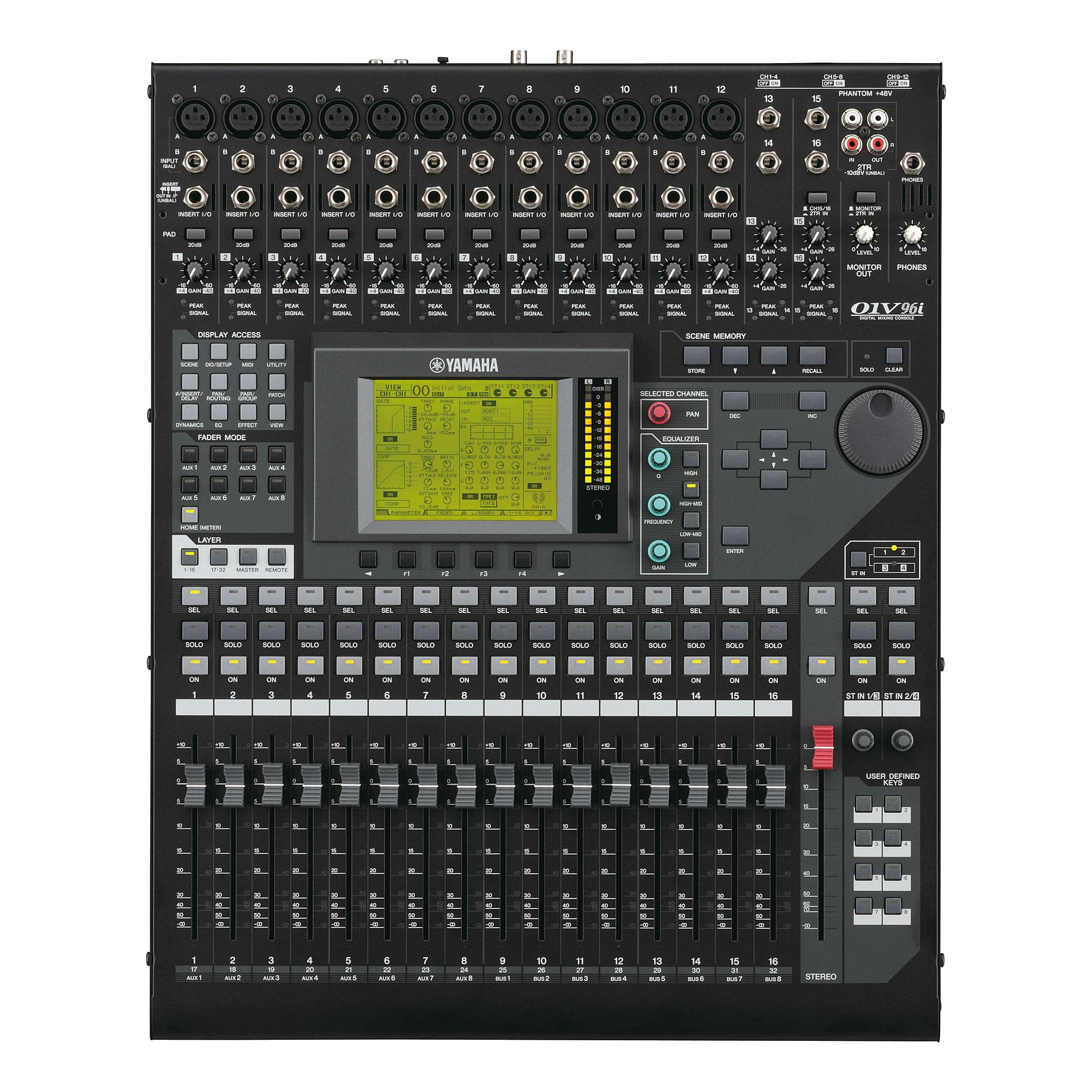 Yamaha 01v96i digital mixing console digital mixer for Yamaha sound console