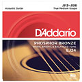 Cuerdas guitarra acúst. D'Addario EJ24 .013-056