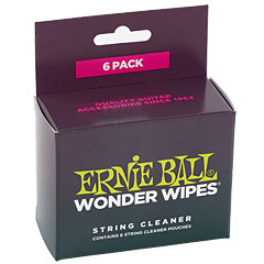 Ernie Ball Wonder Wipes EB4277 « Entretien guitare/basse