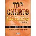 Βιβλίο τραγουδιών Hage Top Charts Gold 6