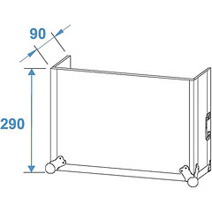 Roadinger Special Combo Case LS5, 6U