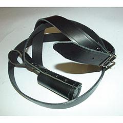 Josef Klier Bell Lyre Black Leather Sling Nr. 140