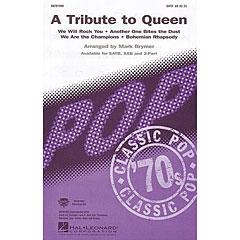 Hal Leonard A Tribute To Queen (Medley) « Notas para coros