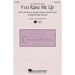 Hal Leonard You Raise Me Up