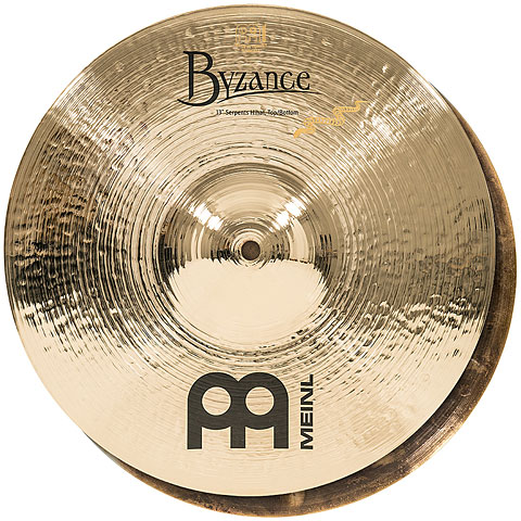 "Meinl Byzance Brilliant 13"" Derek Roddy Serpents HiHat"