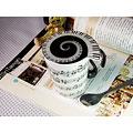 Filiżanka do kawy Music Sales Keramikbecher Horizontal Sheet Music