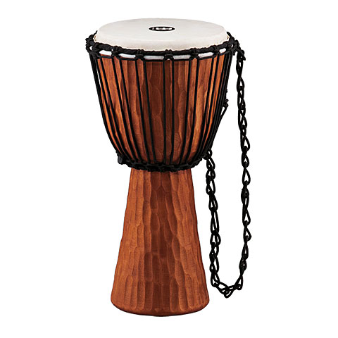 "Djembe Meinl Rope Tuned Headliner Series 10"" Wood Djembe"