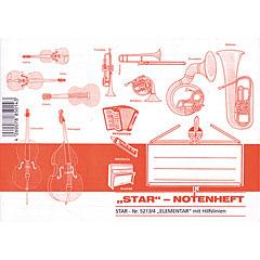 Star Notenheft 5213 mit Hilfslinien « Musiktheorie