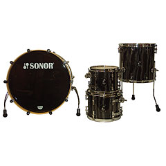 Sonor ProLite PL 12 Studio1 Ebony White Stripes « Drum Kit