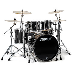Sonor ProLite PL 12 Studio1 Brilliant Black « Batterie acoustique