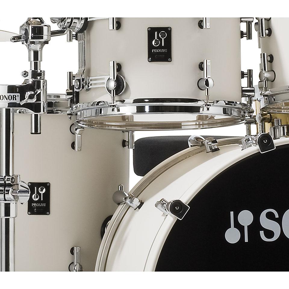 Sonor Prolite Pl 12 Stage 3 Creme White 171 Drum Kit