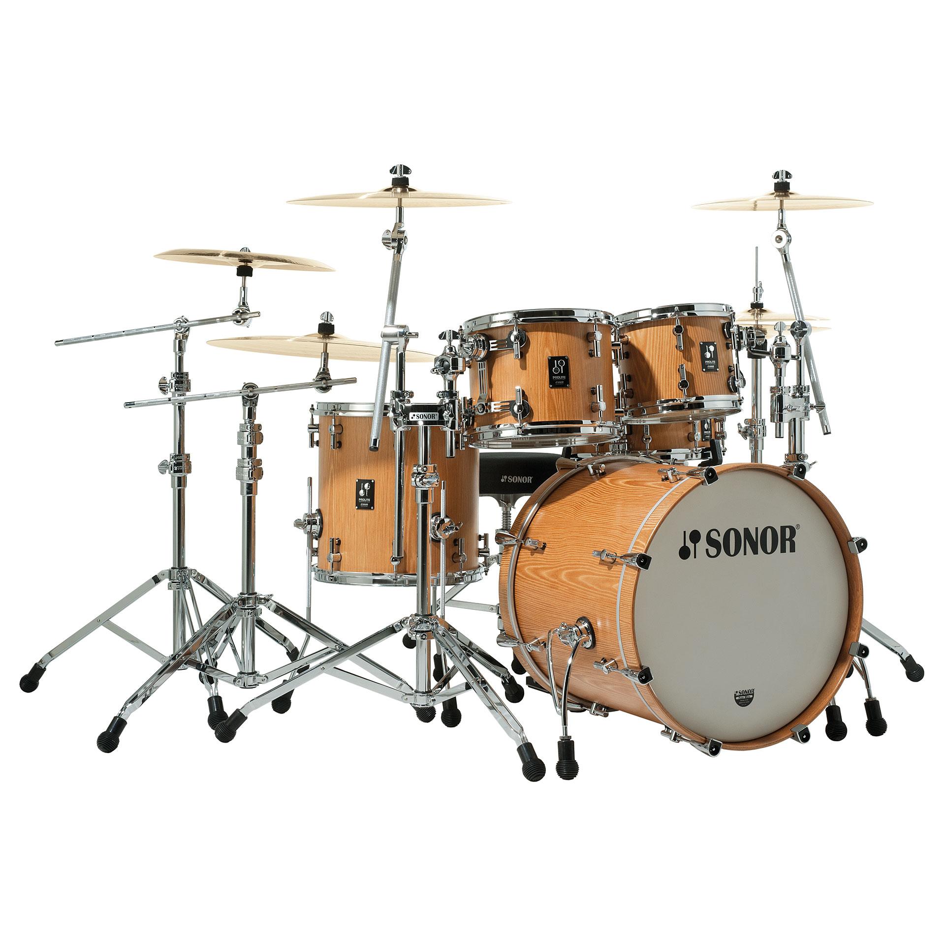 Sonor Prolite Pl 12 Stage 3 Natural 171 Schlagzeug