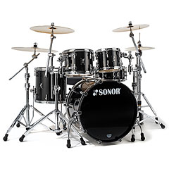 Sonor ProLite PL 12 Stage 3 Brilliant Black « Batterie acoustique