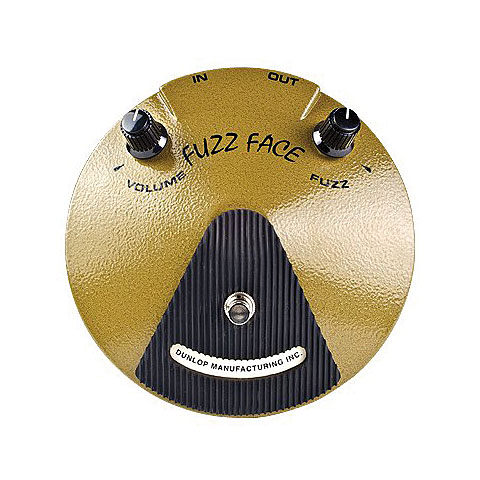 Effektgerät E-Gitarre Dunlop Eric Johnson Fuzz Face