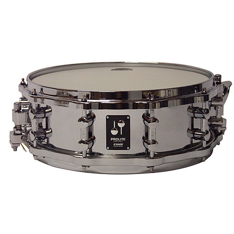 "Caisse claire Sonor ProLite 14"" x 5"" Steel Snare with Die Cast Hoops"