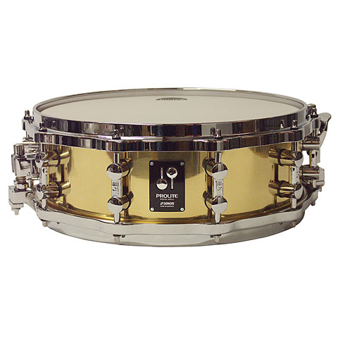 "Snare Drum Sonor ProLite 14"" x 5"" Brass Snare with Die Cast Hoops"