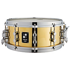 "Sonor 14"" x 6"" Brass Snare with Die-Cast Hoops « Caisse claire"