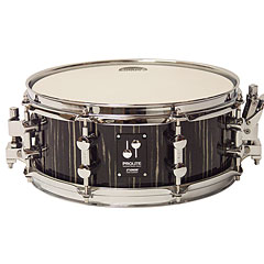 "Sonor ProLite 12"" x 5"" Ebony White Stripes Snare « Snare Drum"