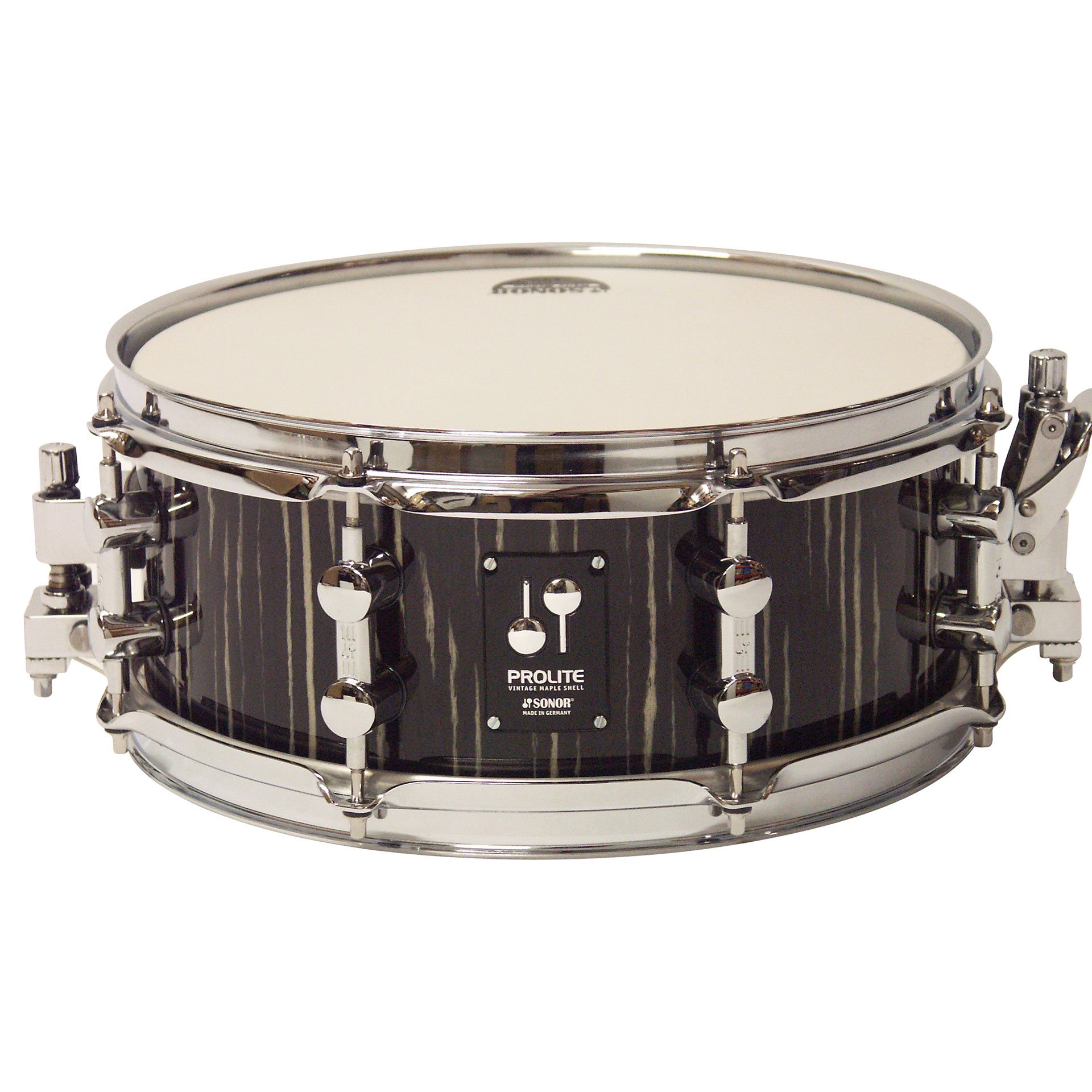 b28a240391ef Snare drum Sonor ProLite PL 1205 SDW Ebony White Stripes ...